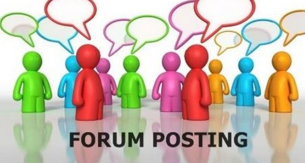 link buidling through Forum Commenting