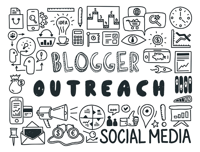 blogger-outreach to generate traffic