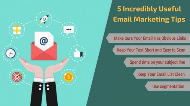 5 Incredibly Useful Email Marketing Tips For Small Businesses